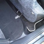 simple little catches to remove back seats