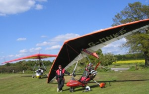 my old microlight and I